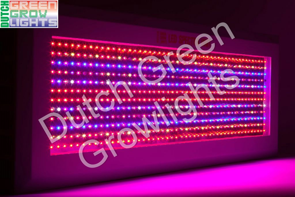 LED Spectra Unit power